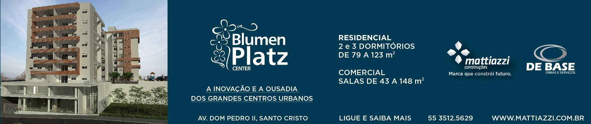 Blumen Platz Center - Outubro de 2015